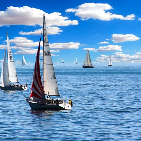 Purjenveneet merellä